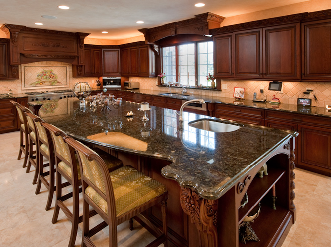 long kitchen island ideas dormers island extensions kitchens amp bathrooms 7170